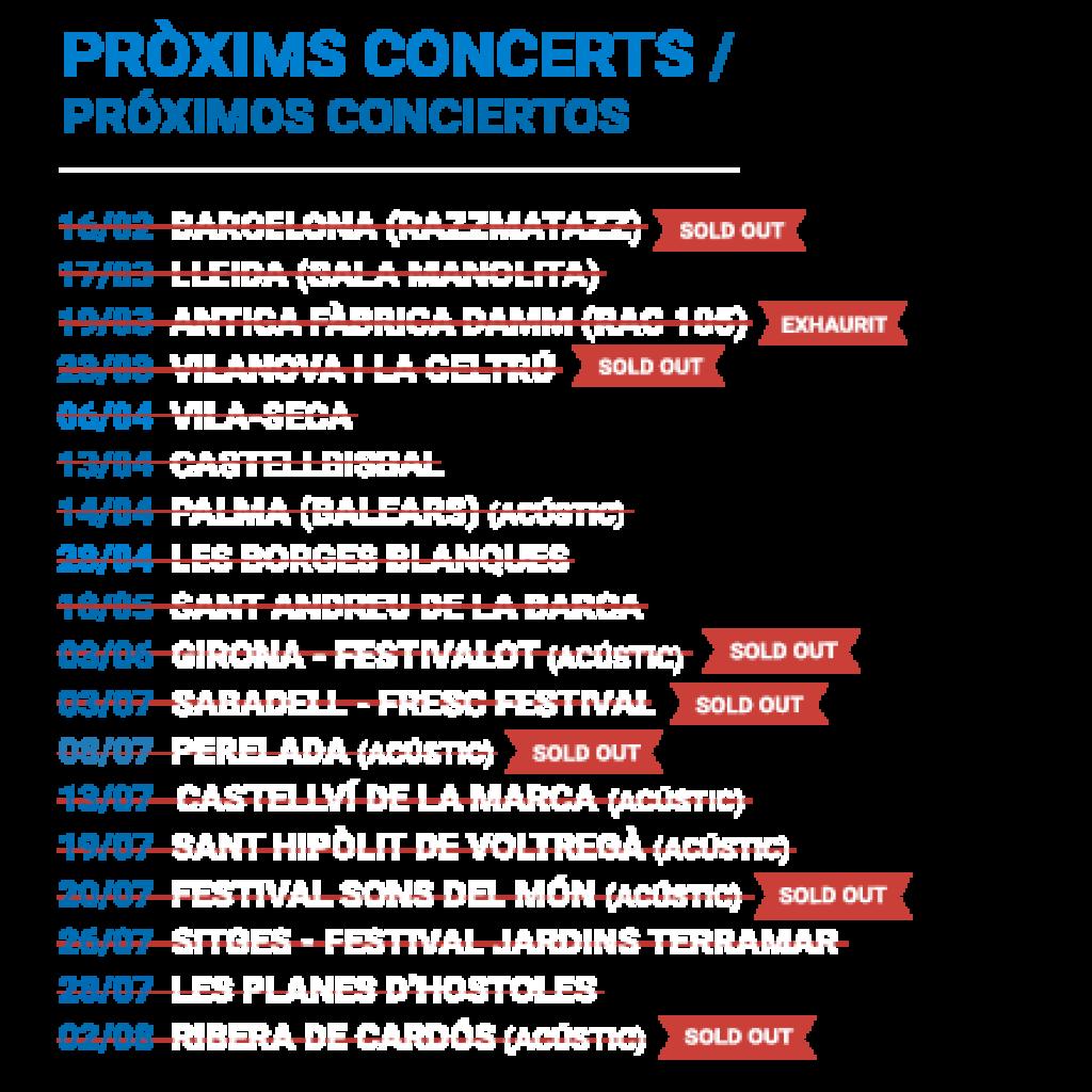 Concerts de Manu Guix, part 1.