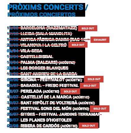 Concerts gira Després de tot